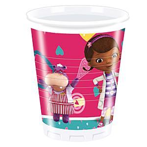 Doc McStuffins Party Cups, Set of 8 - Doc Mcstuffins Gifts