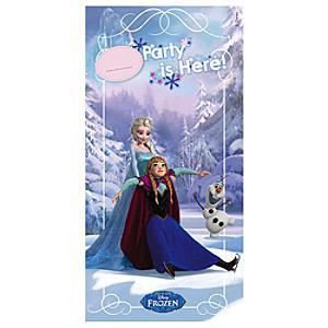 Die Eiskönigin - völlig unverfroren - Türbanner