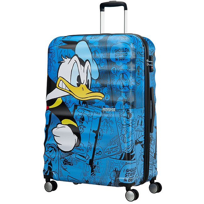 American Tourister Bagage à roulettes Donald Duck, grand format