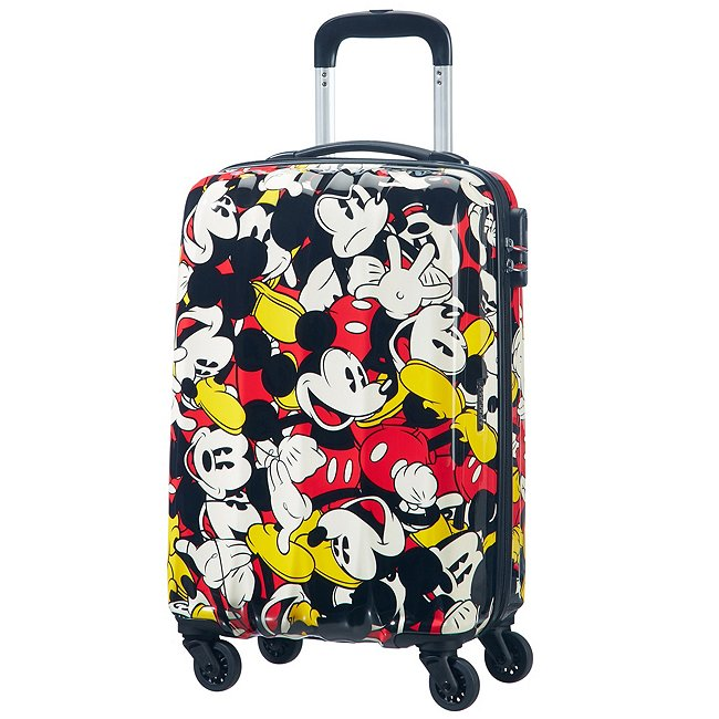 American Tourister Bagage à roulettes Mickey Mouse Comics, petit format