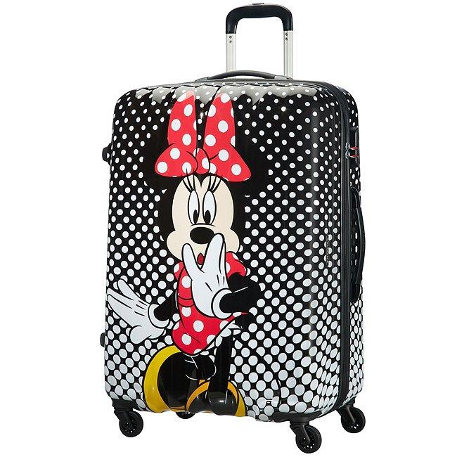 American Tourister Bagage à roulettes Minnie à pois, grand format