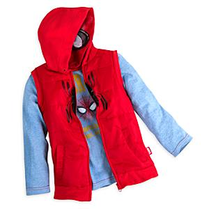Conjunto infantil de chaleco y camiseta de manga larga de Spider-Man: Homecoming