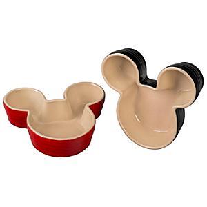 Le Creuset Mickey Mouse Ramekins, Set of 2
