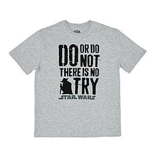 Star Wars - Yoda T-Shirt mit Schriftzug für Herren