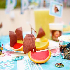 Moana Inspired Orange Peel Boats Recipe - Boats Gifts